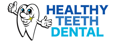 Healthy Teeth Dental Mobile Retina Logo