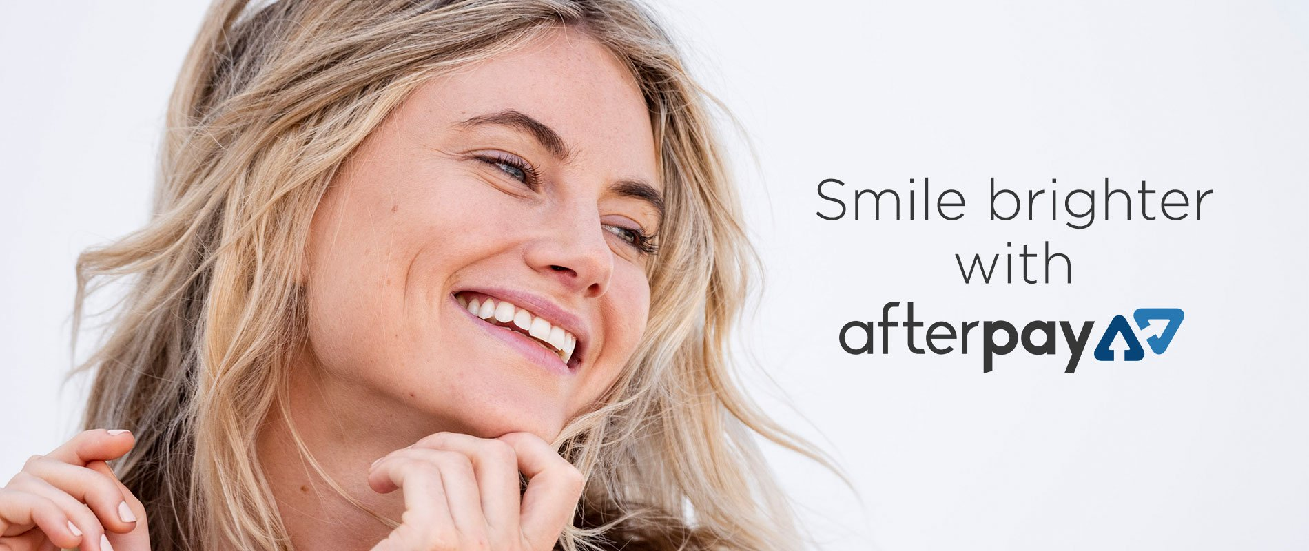 smile brighter afterpay banner